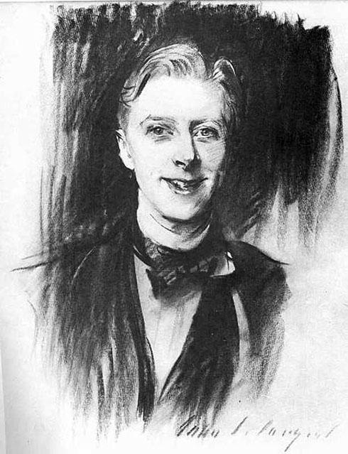 Ernest Thesiger by John Singer Sargent